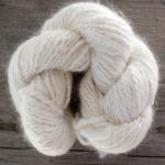 Custom Handspun Angora yarn