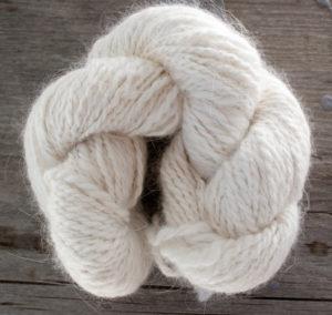 Custom Handspun Angora yarn