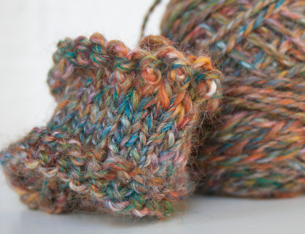 Handspun Yarn - Gaywool Merino and Silk