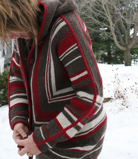 hand knit sweater adult surprise