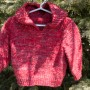 merino and silk baby sweater
