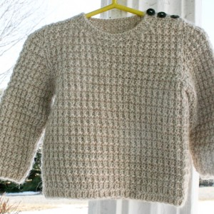 Free Knitting Patterns Alpaca Sweaters : Hand knit Alpaca Baby Sweater Pullover Nancy Elizabeth ...