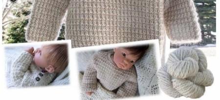 Alpaca Pullover Knitting Pattern