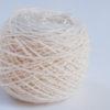 ball of handspun cashmere yarn