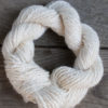 skein Handspun Merino and Silk blend yarn