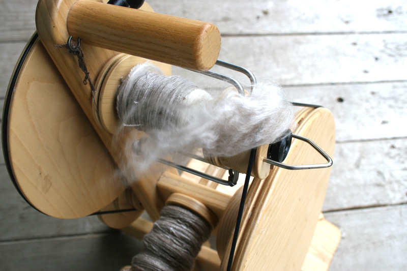 Hand Spinning - Cashmere and Silk