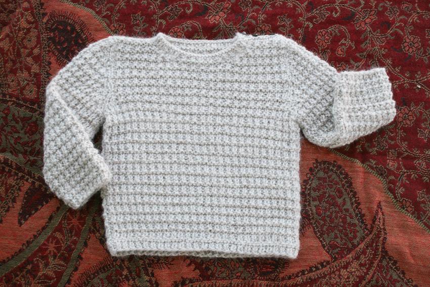 Alpaca Knitting Patterns : Eastport Alpaca Baby Sweater Pullover Knitting Pattern Nancy Elizabeth Designs