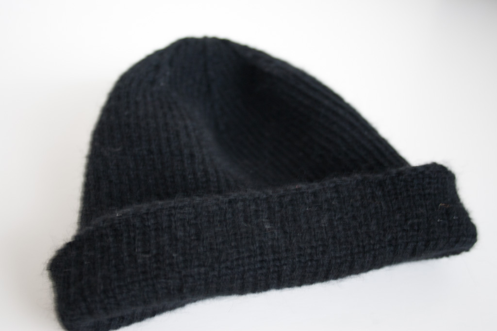 Free Knitting Pattern Reversible Hat : Another One   the Reversible Watch Cap / Skull Cap ...