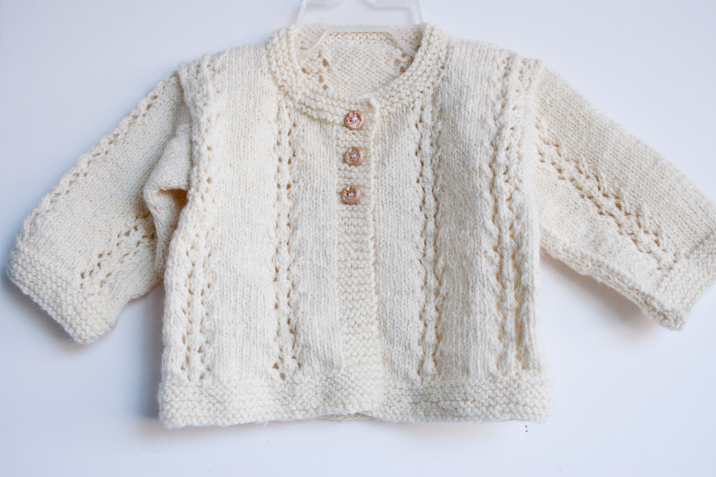Purl Bee Knitting Patterns : Hand Knit Merino Baby Sweater Nancy Elizabeth Designs