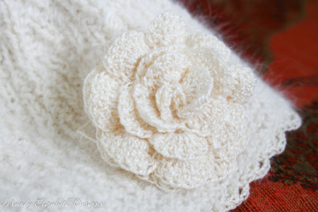Whisper angora silk hat custom-0365