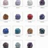 Gaywool Merino Silk Colours