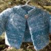 Top Down Garter Stitch Baby Jacket