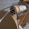 Hand Spinning Merino and Silk Yarn
