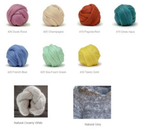 the colours that we blend with angora