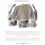 alpaca pullover pattern
