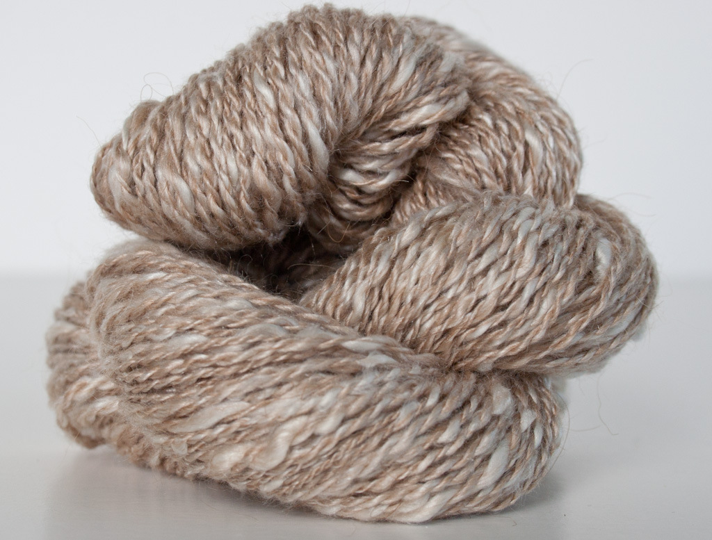 ... ? Natural Fibers ? Camel ? Custom Handspun Baby Camel & Silk Yarn