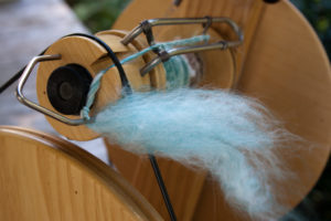 spinning angora and merino blend