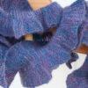 Merino and Silk handspun yarn scarf