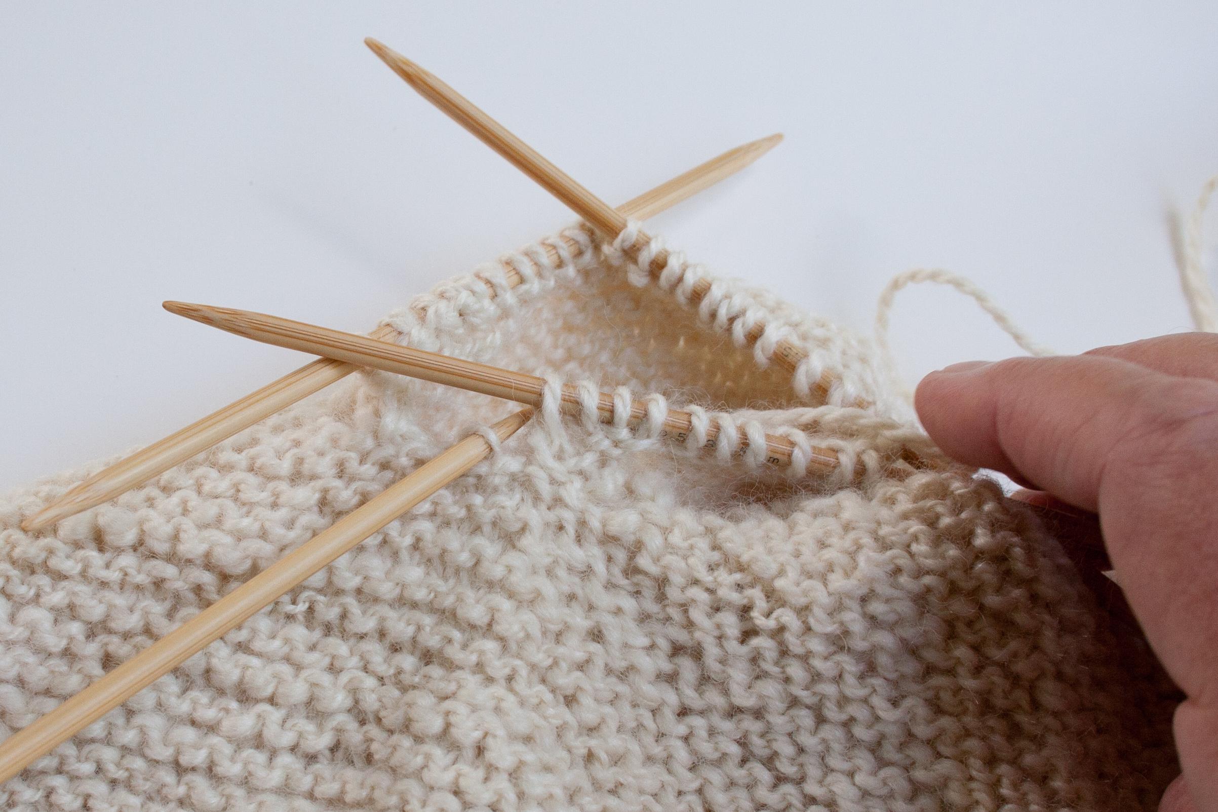 Top Down Garter Stitch Baby Jacket Pattern Download | Nancy ...