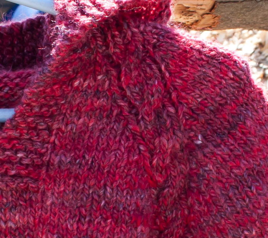 Top Down Hoodie Baby Sweater Knitting Pattern Nancy Elizabeth Designs