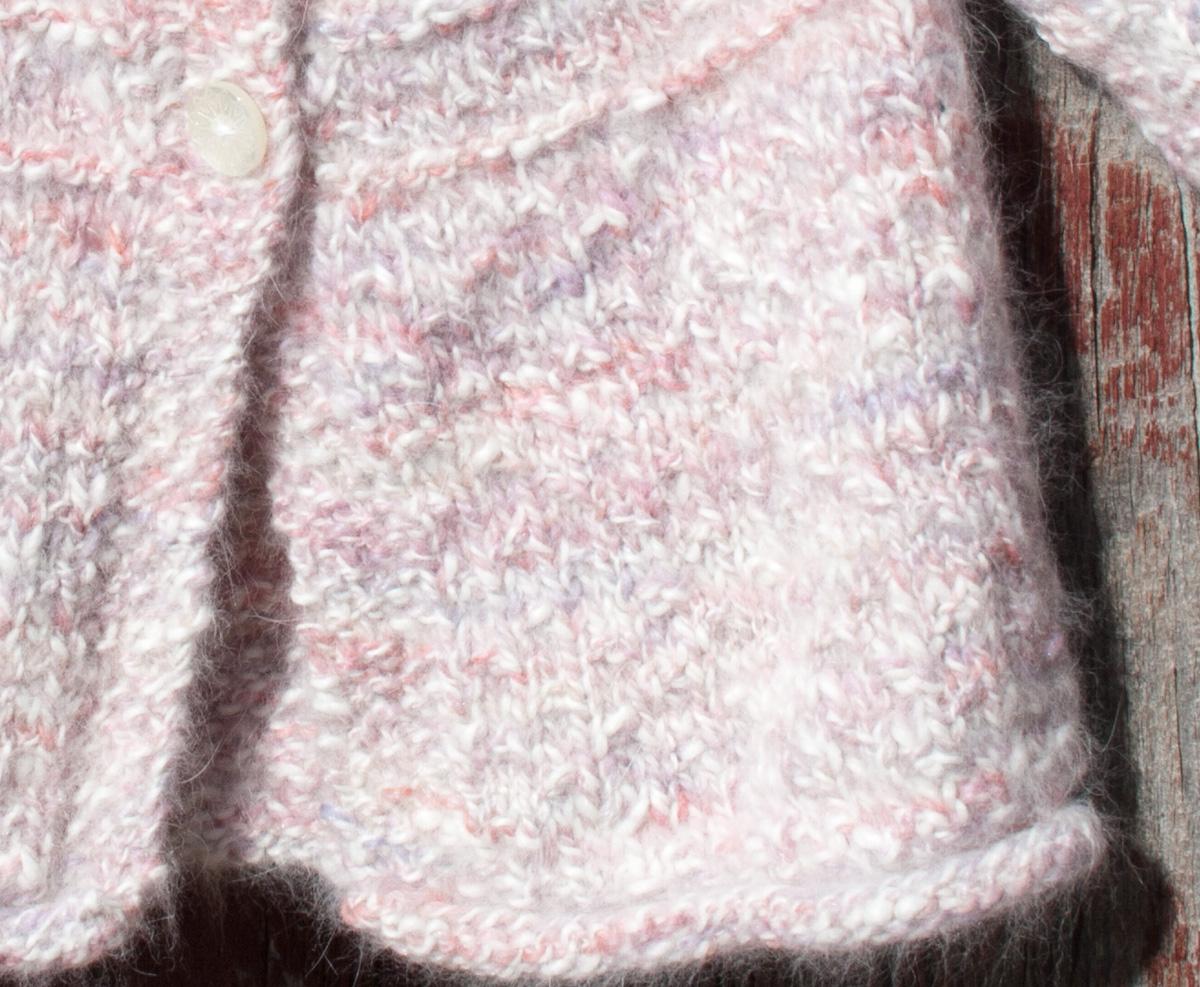 Knitting Sweater For Baby : Hand knit angora baby sweater nancy elizabeth designs