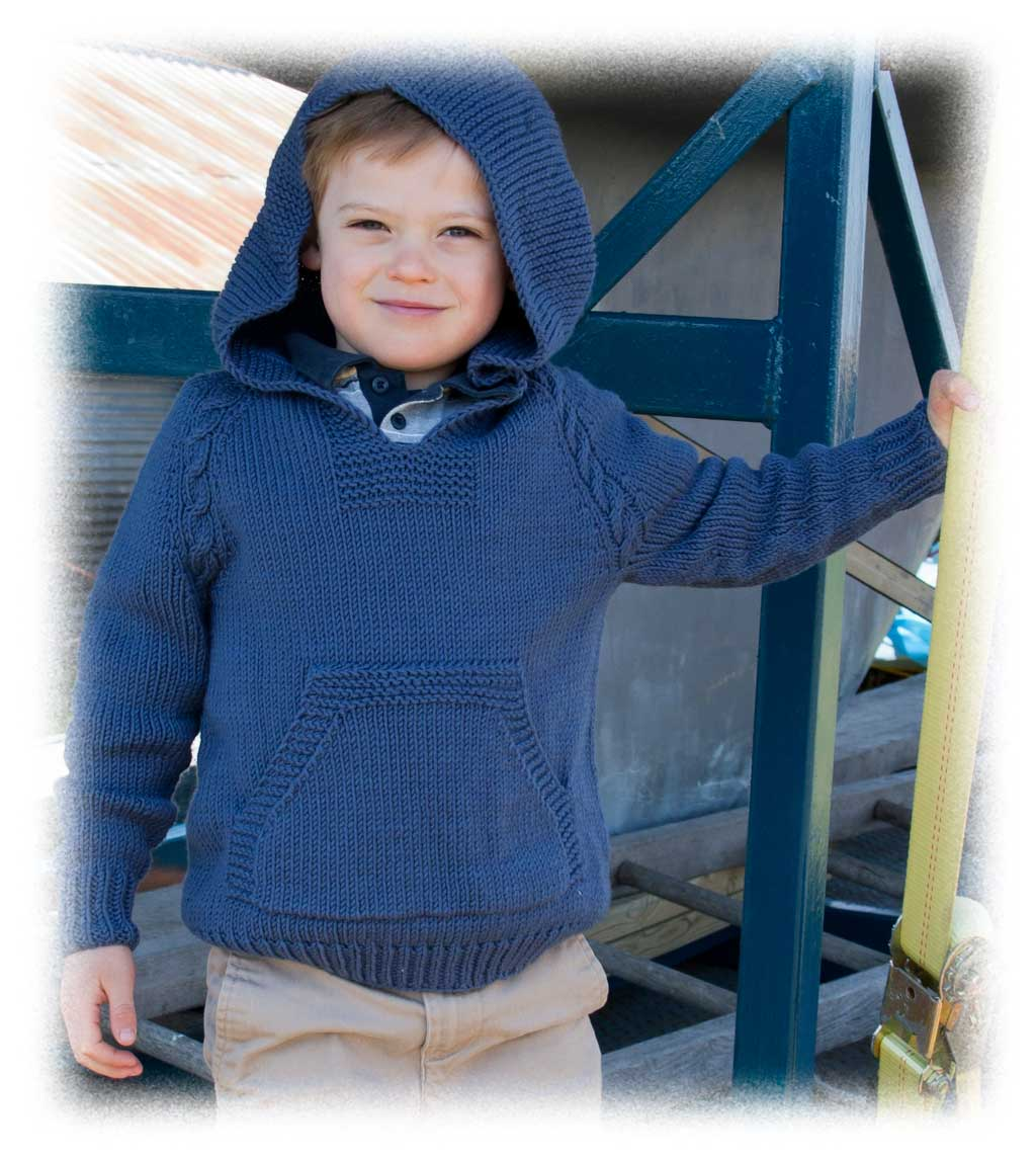 Knit hoodie pattern